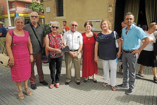 Carolina Vázquez, Antonio Rodríguez, Maruchi Rivadulla, Xose Rodríguez, Rita García, María del Carmen González y José Cures.