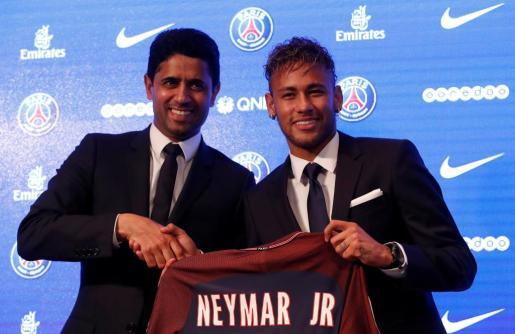 El futbolista ha sido presentado este viernes como jugador del PSG.