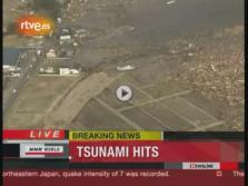 Primeras imágenes tras el terremoto de Japón