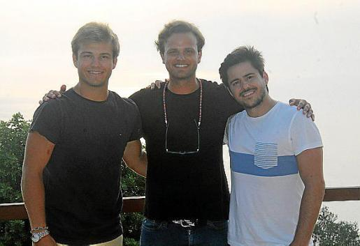 Pedro Fornés, Kiko Fornés y Lalo Dipiu.