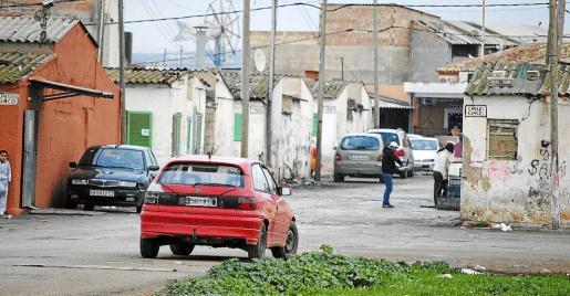 Imagen de archivo del poblado de Son Banya, que el Pacte se ha propuesto desmantelar en tres años.