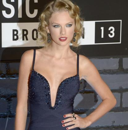 Taylor Swift a su llegada a los premios MTV Video Music Awards en Brooklyn, New York (EE.UU.).