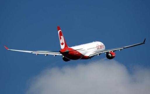 Imagen de un avión de Air Berlín.