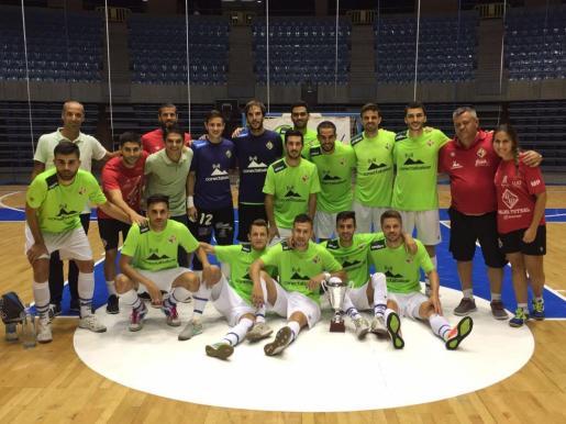 Imagen de la plantilla del Palma Futsal.
