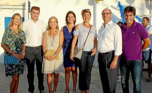 Carmen Lemm, Bernat Busquets, Gari Duran, María José Bauzá, Margalida Duran, Rafel Vallespir y Climent Garau.