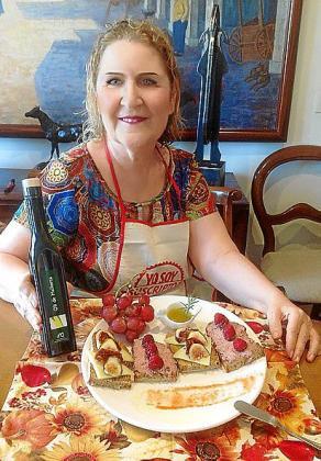 Xisca Aguiló presenta su mermelada.