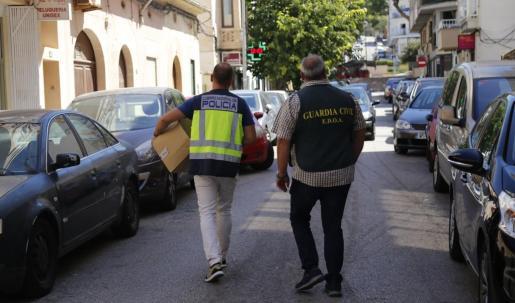 Operación conjunta entre la Policía Nacional y la Guardia Civil contra una red de carteristas.