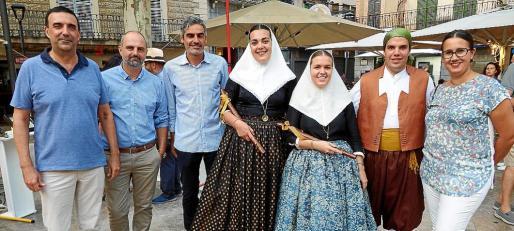 Jaume Servera, Jaume Mateu, Josep Lluís Colom, Catalina Arbona, Llucia Bibiloni, Guillem Cortès y Laura Celià.