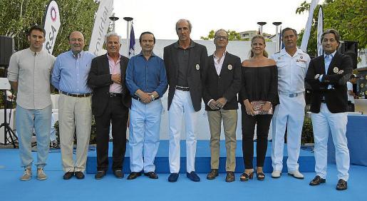 Isaac Galcerá, Manuel Calvo, Manuel Nadal, Almirante Pita da Veiga, Borja de la Rosa, José Quart, Esther Vidal, Juan Moreno y José Luis Arrom.