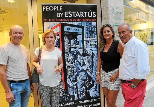Jacinto Fernández, María Sanchís, Rosa Vanrell y Jaime Mestres Estartús.