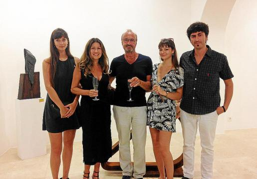 Polar, Andrew, Claudia y Cressada Wyer con Pol Font.