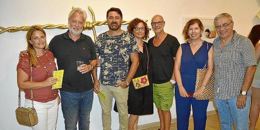 Sebastiana Bonet, Biel Huguet, Jacint Amorós, Bel Maria Guasp, Rotger, Floren Redondo y Rafel Vadell.