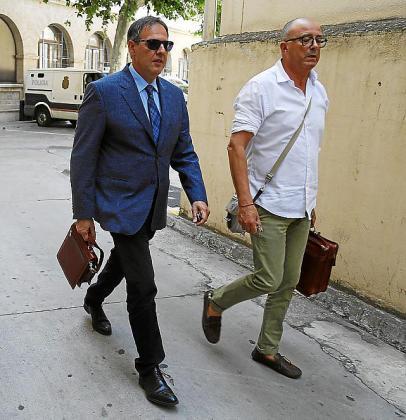 El juez Penalva y el fiscal Subirán.