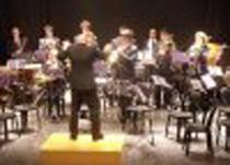La Banda Municipal de Música de Calvià, durante un concierto.