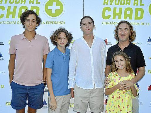 Jaime Oliveira, Miguel Moragues, Raimundo Moragues, Aina Moragues y Raimundo Moragues.