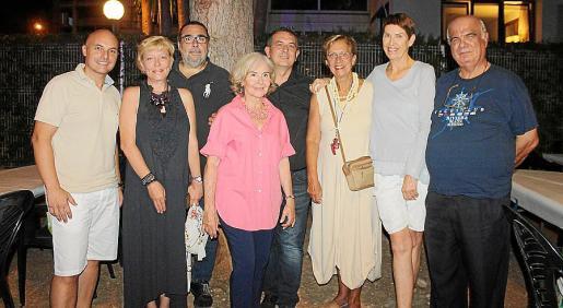 David Díez, Mariana Arasheva, Miguel Balaguer, Ana María Parés, Luis Matarín, Francisca Bennássar, Agneta Af Winklerfelt y Francisco Bauzá.