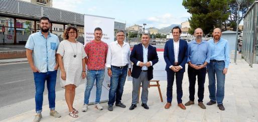 Representantes del Ajuntament y de la Conselleria de Mobilitat explicaron el nuevo convenio de colaboración.