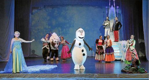 Una escena del espectáculo 'Frozen', de Rafel Brunet, que el próximo octubre instalará en la Gran Vía de Madrid.