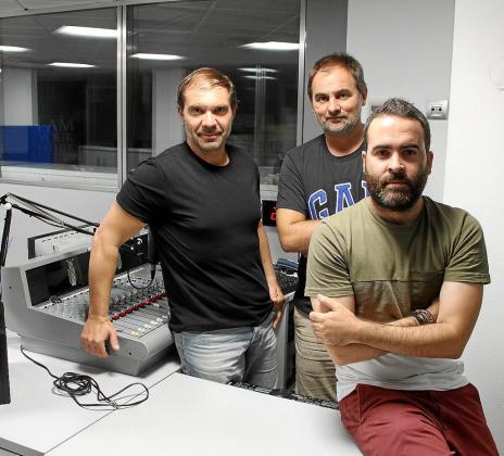 Miquel Alzamora, Albert Orfila y Juan Pedro Martínez vuelven a las ondas.