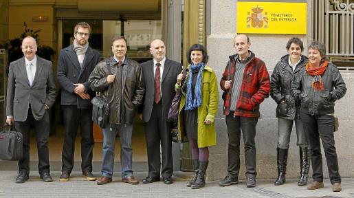 Imagen de archivo de los promotores de la acoalición abertzale Sortu.