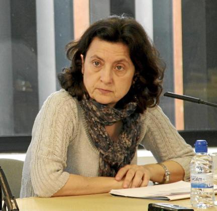 La consellera Fina Santiago.