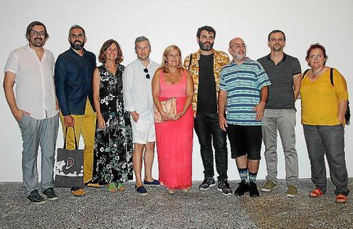 Sebastià Mascaró, Francisco Copado, Marta Fuxà, Fran Reus, Rosa Cursach, Tolo Cañellas, Andrés Senra, Llorenç Carrió y Lena Castells.