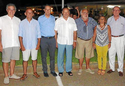 Joan Serra Vich, Pep Borrás, Xavier Ramis, Antonio Monserrat, Jaume Socias,