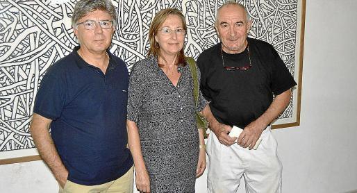 Jordi Miralles, Maria Jesús Masdeval y Andreu Maimó.