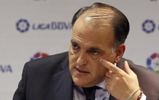 Tebas: «Si Catalunya finalmente se independiza los clubes catalanes no jugaría la Liga española»