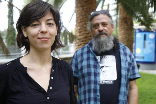 Flavia Gargiulo y Max.