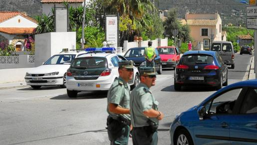 La Guardia Civil montó un dispositivo de vigilancia en Calvià para detener al sospechoso.