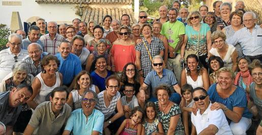 El grupo de cursillistas compartió una animada jornada en Cala Figuera.
