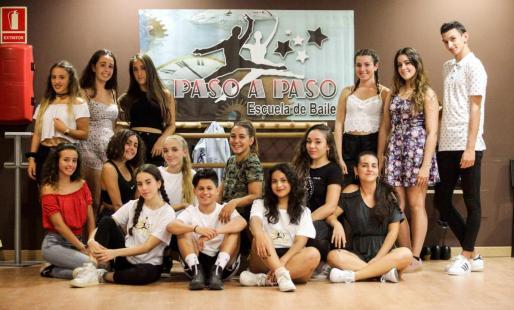 Los alumnos que han conseguido el oro en la gran final 'Vive tu sueño' celebrada en París el 9 y 10 de septiembre.