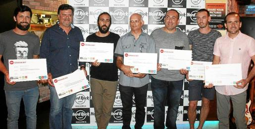 Nelson Daniel Núñez, Jaume Salom, Julio Jiménez, Carlos Abraham Sampol, Ángel Vicente Ruiz, Andrei Comam y Diego Faus.