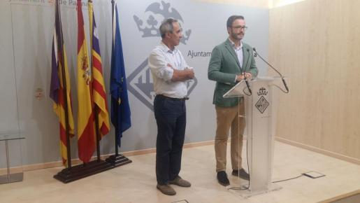El regidor José Hila ha explicado los acuerdos de la gerencia de Urbanismo sobre ses Fontanelles.