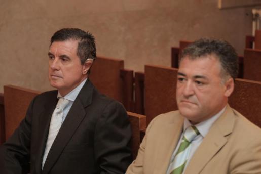 Jaume Matas y José Luis 'Pepote ' Ballester, durante el juicio.