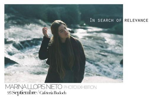 'In search or relevance' es una exposición de fotos de Marina Llopis Nieto.