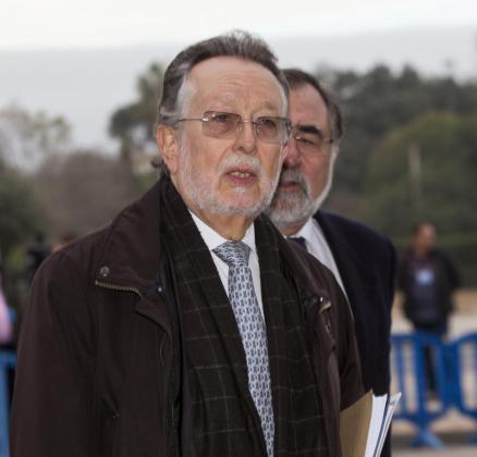 El exvicealcalde de Valencia, durante la celebración en Palma del juicio del caso Nóos.