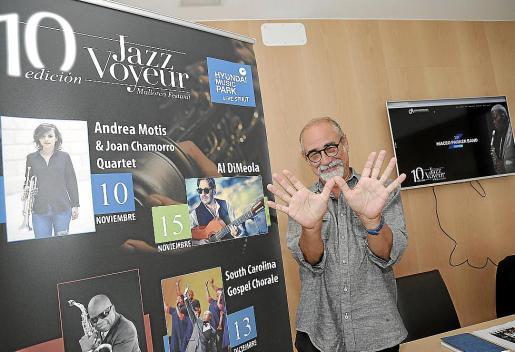 El director del Jazz Voyeur Festival, Roberto Menéndez.