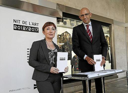 Nekane Aramburu y Antonio Sánchez.