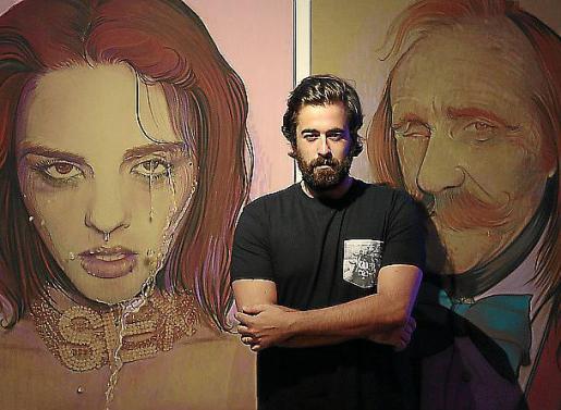 El artista Carlos Prieto abre las puertas de su taller.