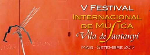 Cartel del V Festival Internacional de Música VIla de Santanyí.