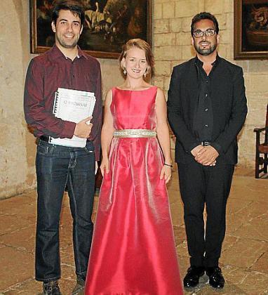 Gabriel Pascual, Urszula Bardlowska y Francisco Soriano.