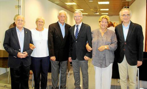 José Tomás Monserrat, Rosa Carbó, Bartomeu Anguera, Ramón García, Iyabo Carbó y Macià Tomás.