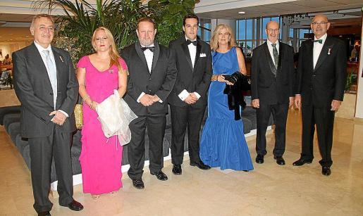 Alberto Leal, María del Carmen Gómez, Miguel Adrover, Elies Colom, Magdalena Ballester, Joan Juan y Rafael Xamena.