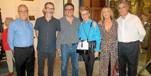 Fernando Rotger, Joan Cortés, Carles Valverde, Rosa María Regi, Malén Pujol y Joan Buades.