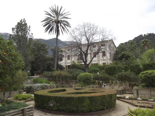 Imagen del Jardín Botánico de Sóller.