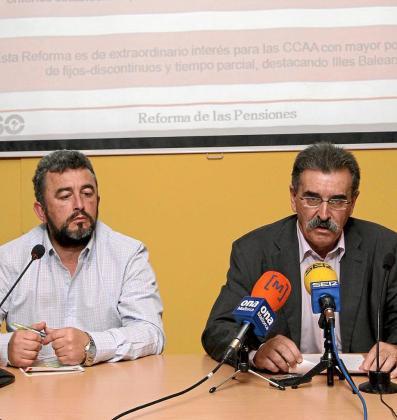 Francisco Melgarejo y José Vía