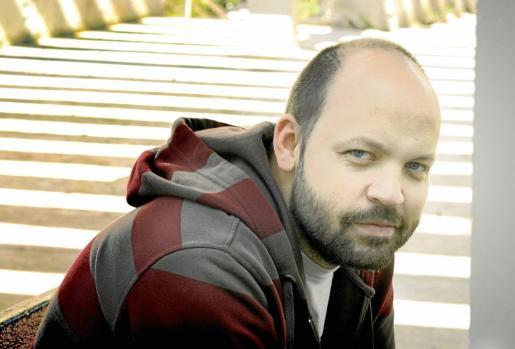 El escritor y humorista Miguel Noguera, en Barcelona.