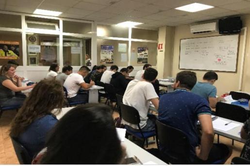 La Academia Carrió este mes de septiembre ha iniciado los cursos para los futuros opositores para el ingreso en la Guardia Civil.